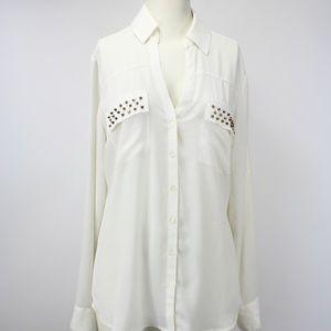 Express Portofino Shirt Studded Shirt